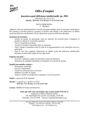 offre moniteur 2015