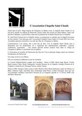 Fichier PDF presentation chapelle association et patrimoine