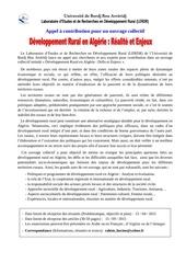 Fichier PDF appel a contribution dans un ouvrage collectif dev rural fr 2015