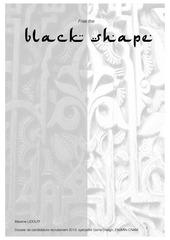 black shape