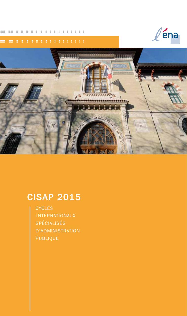Aperçu du document Catalogue CISAP 2015.pdf - page 1/60