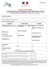 dossier de candidature cisap 2015 en