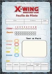 feuille de pilote