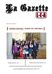 gazette lea n 2 edition speciale