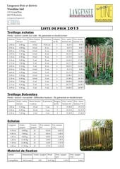 listeprix langensee woodline2015
