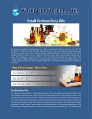 retail perfume body oils