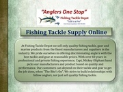 fishing tackle supply online