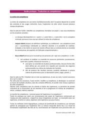 ressources methodologiques les competences