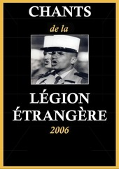 carnet de chants legion Etrangere