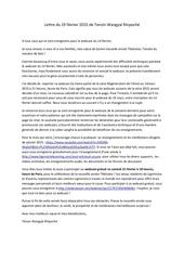 lettre de tenzin wangyal rinpoche