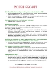 projet candidature vpsi