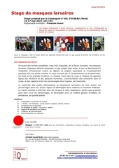 Fichier PDF stage masques larvaires mai15