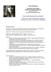 Fichier PDF cv cecile messyasz