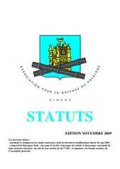 statuts adf
