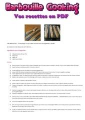 Fichier PDF baguettes