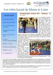 infos karate 49 n 7 nov dec 2014
