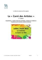 carre des artistes v2ete2015 230215