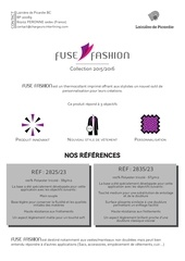 offre fuse fashion 2015 2016