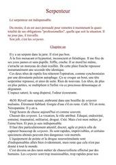 Fichier PDF serpenteur