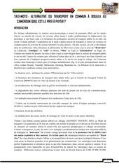 Fichier PDF taxi