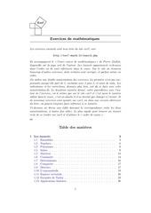 exercices de maths