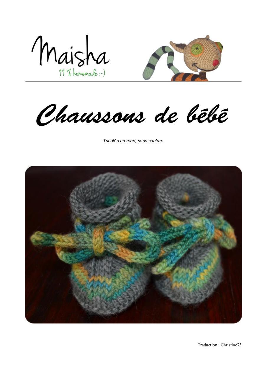 chaussons béébé aiguilles circulaires par sisse - Fichier PDF 54e1b4d30c5