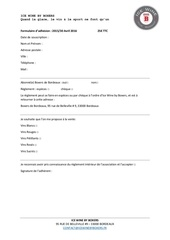 Fichier PDF formulaire icewiners