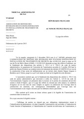 ordonnance juge des referes 6 01 2015 adrise contre smtd