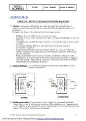 Fichier PDF 003 alternateur regulation depannage