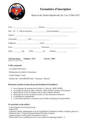formulaire inscription ski 2