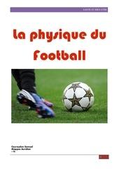 la physique du football