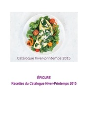 recettes du catalogue hp 2015
