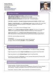 Fichier PDF cv drapeau beatrice