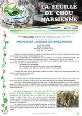 feuille de chou marsienne n 6 mars 2015