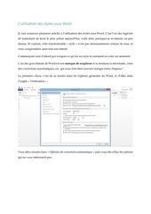 Fichier PDF les styles avec word partie 1