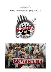 programme de campagne