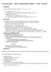 bezout similitude bac math