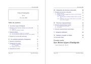 cours et exercice sur les integrales
