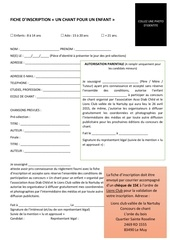 fiche dinscription
