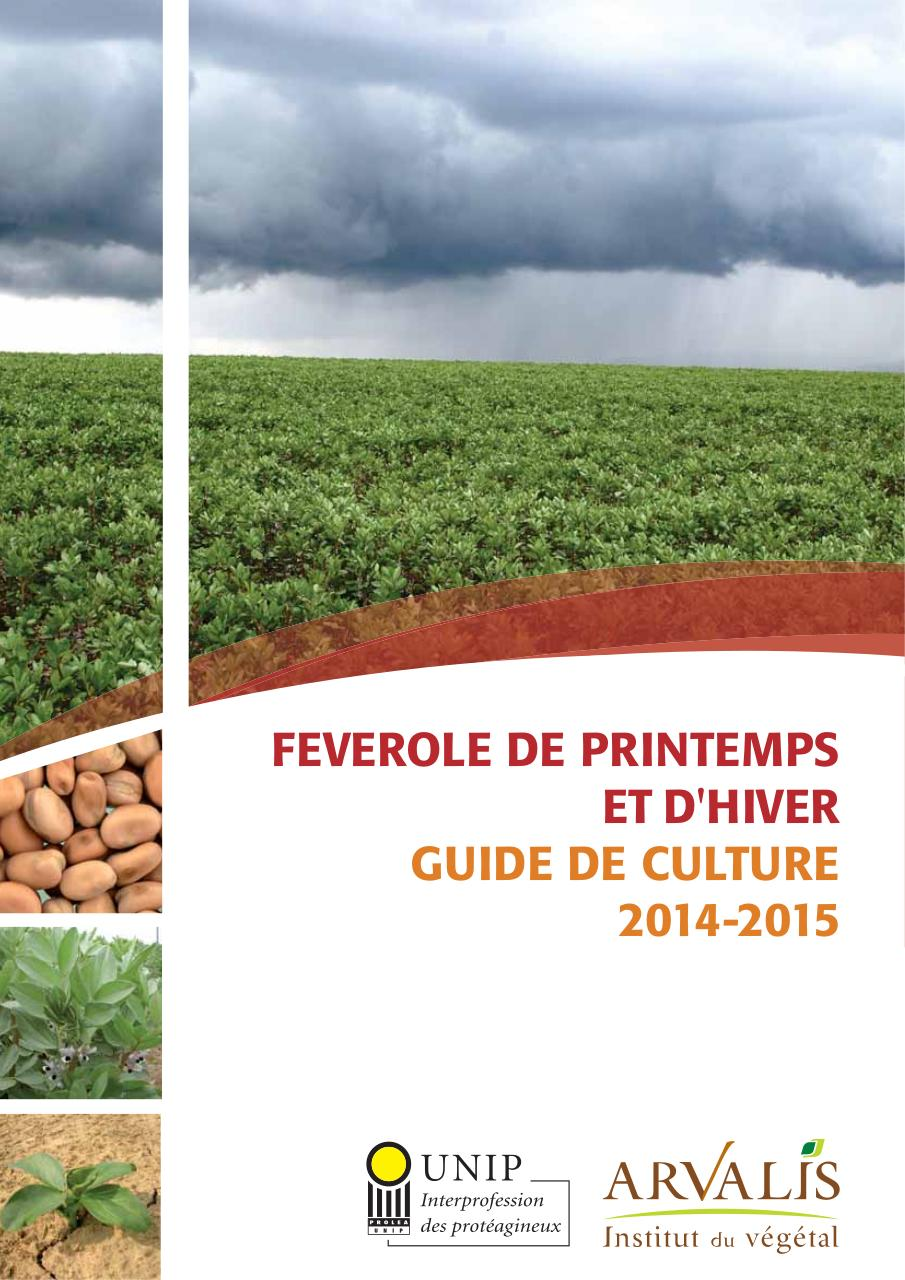 Aperçu du document Guide_culture_feverole_2014.pdf - page 1/28