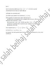 exercice 4 etude des fonctions