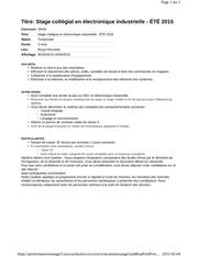 Fichier PDF stage collegial en electronique industrielle