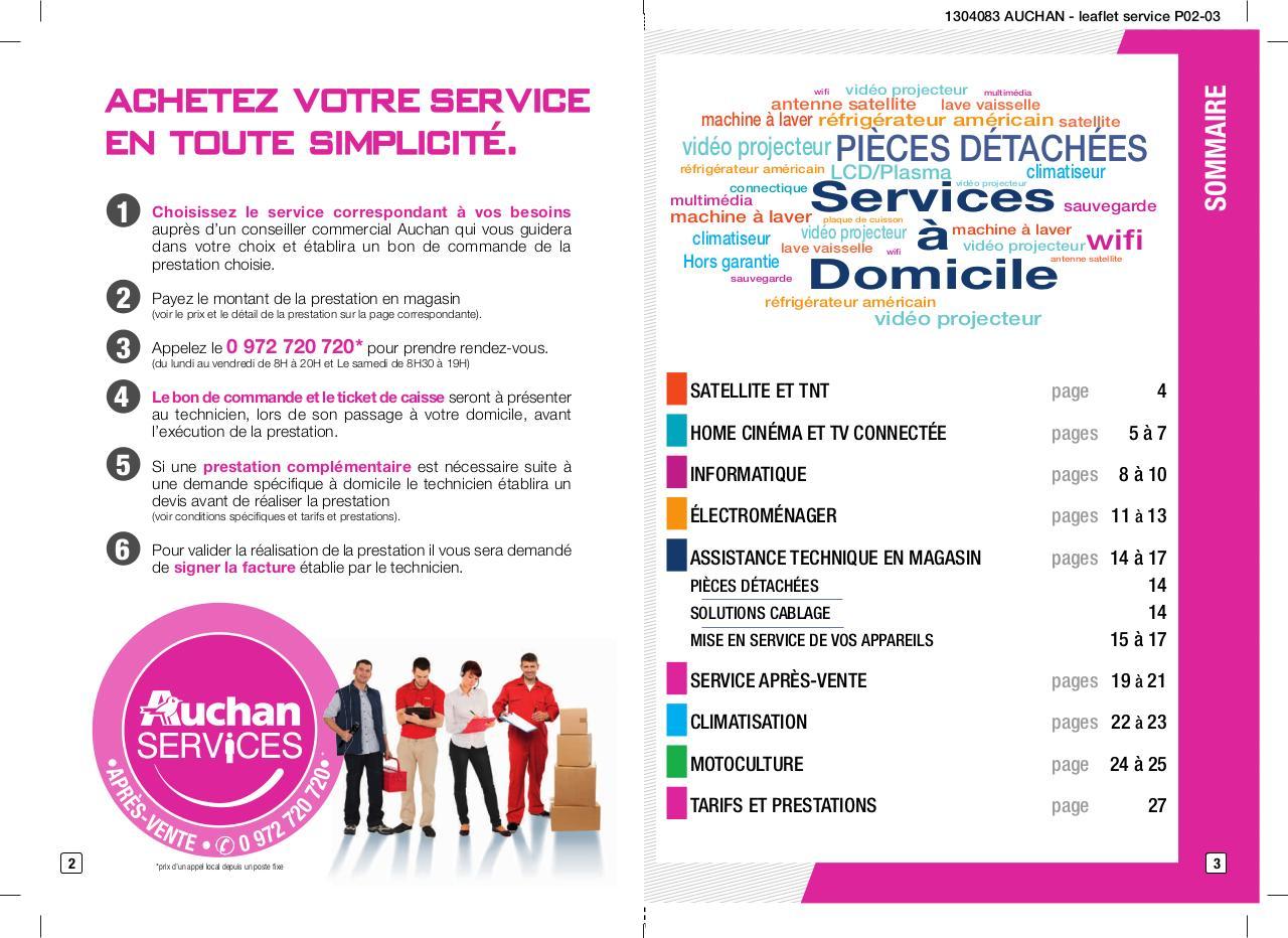 Brochure Auchan Services Fichier Pdf