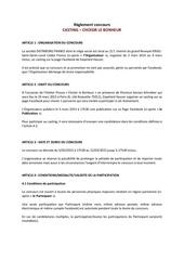 gayelordhauser reglement casting 2015