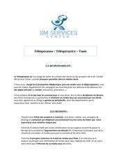 mission d un telepropecteur sm services center