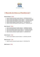 Fichier PDF statistiques chanttionnat