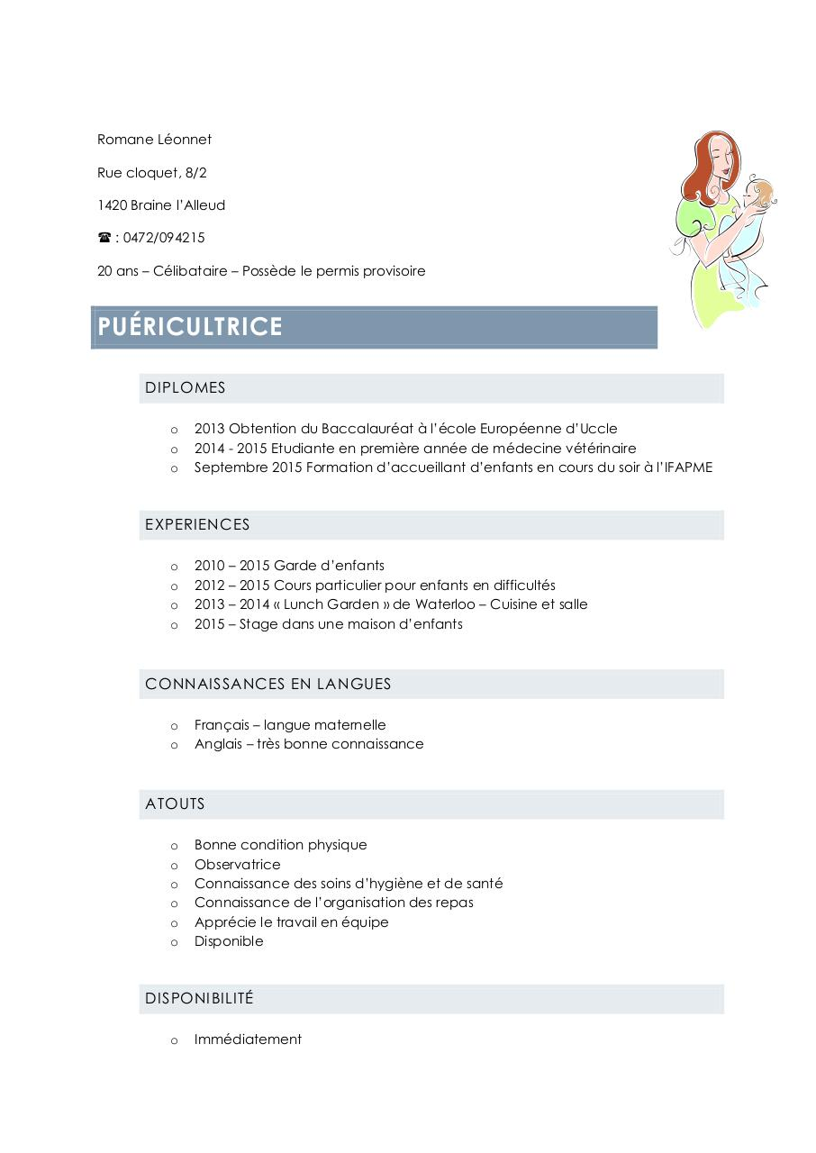 cv mef par berangere jadin
