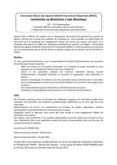 Fichier PDF maison des squares recutement