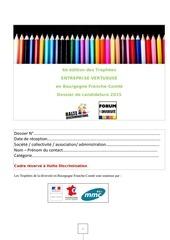 formulaire candidature v3 trophee entreprise vertueuse 2015
