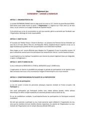 gayelordhauser reglement evenement 2015